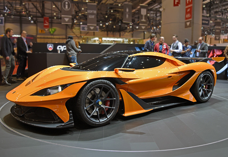 2016 Apollo Arrow Concept