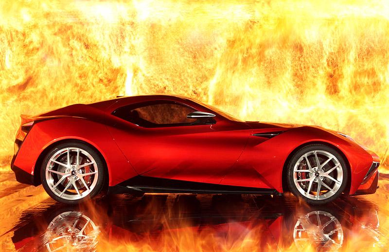 Icona Vulcano - новая итальянская Икона строения суперкаров