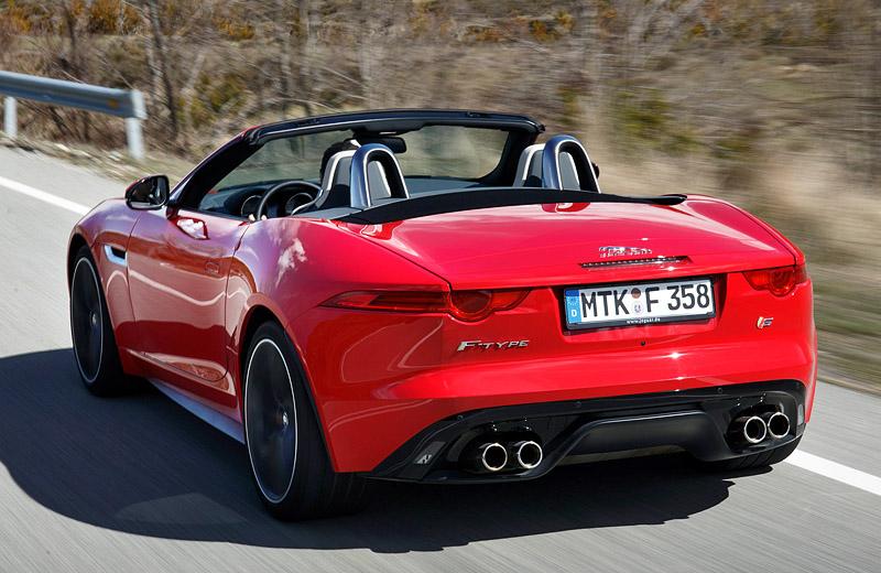 Легендарный родстер Jaguar возвращается! - Jaguar F-Type V8 S