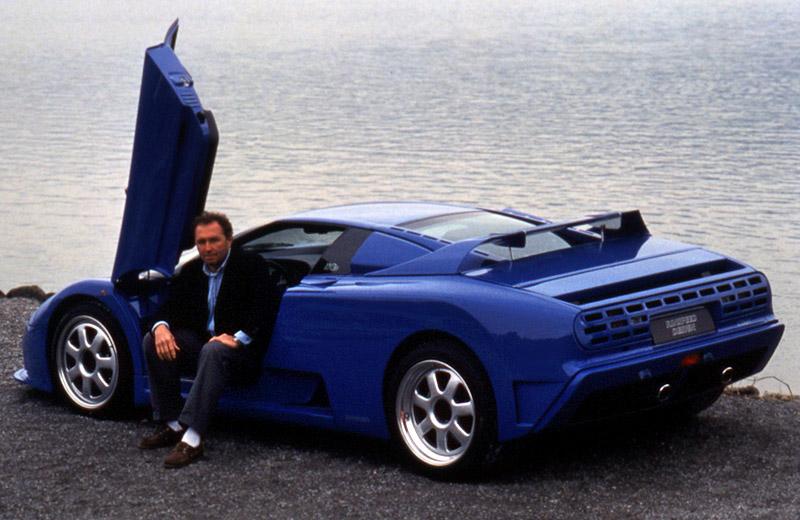 Bugatti EB 110 Rinspeed Cyan: Француз по-швейцарски
