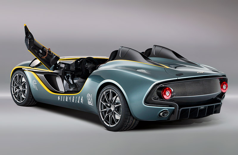 Aston Martin CC100 Speedster Concept - специальный концепт к 100-му юбилею компании