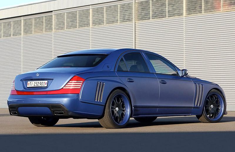 Maybach 57S FAB Design Definition - аристократ в спортивном костюме