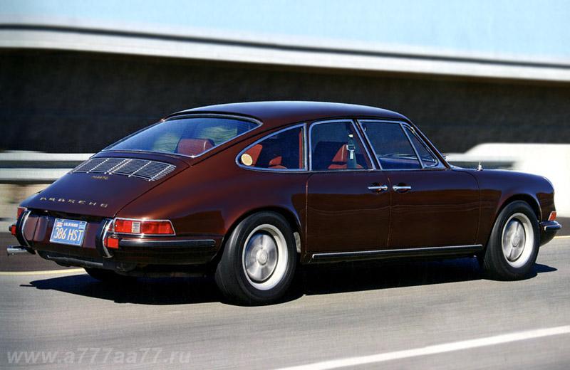 1967 Porsche 911 S 4-door by Troutman & Barnes - забытый предок Porsche Panamera