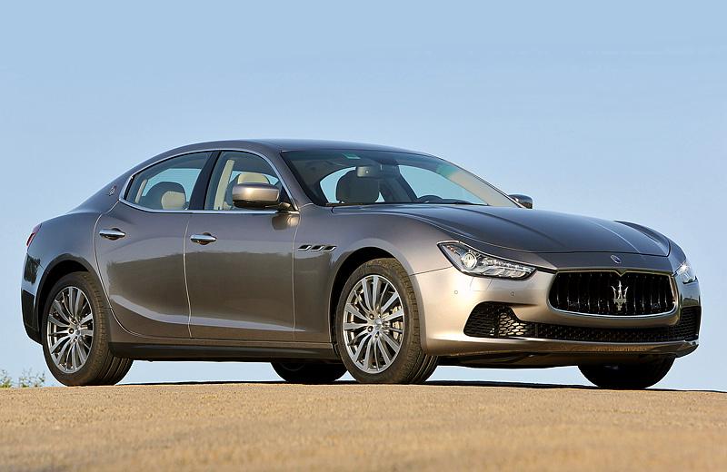 Maserati Ghibli - Новый седан от производителя элитных авто
