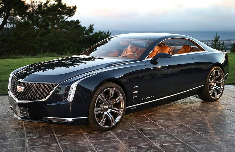 Cadillac Elmiraj Concept - Новый американец со «старыми дырками»