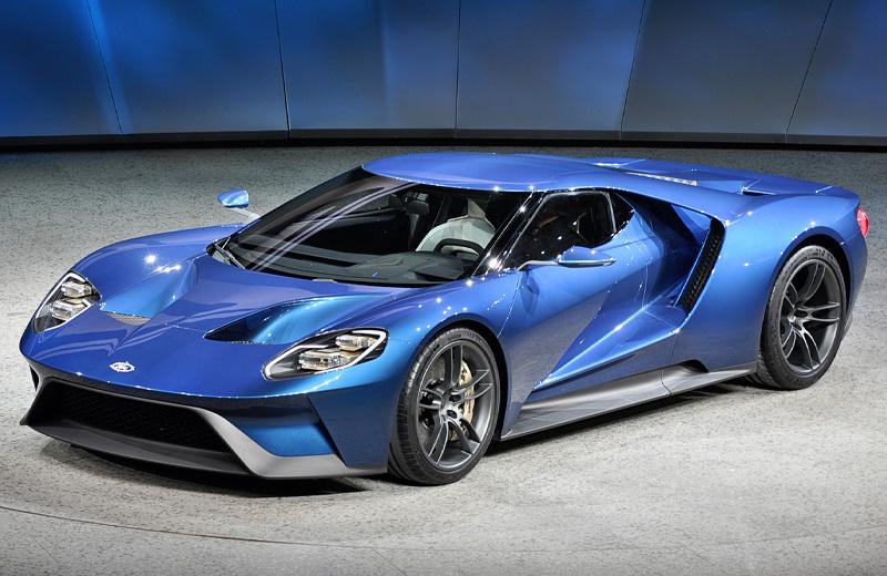 Ford GT 2016 - потомок легендарного GT 40