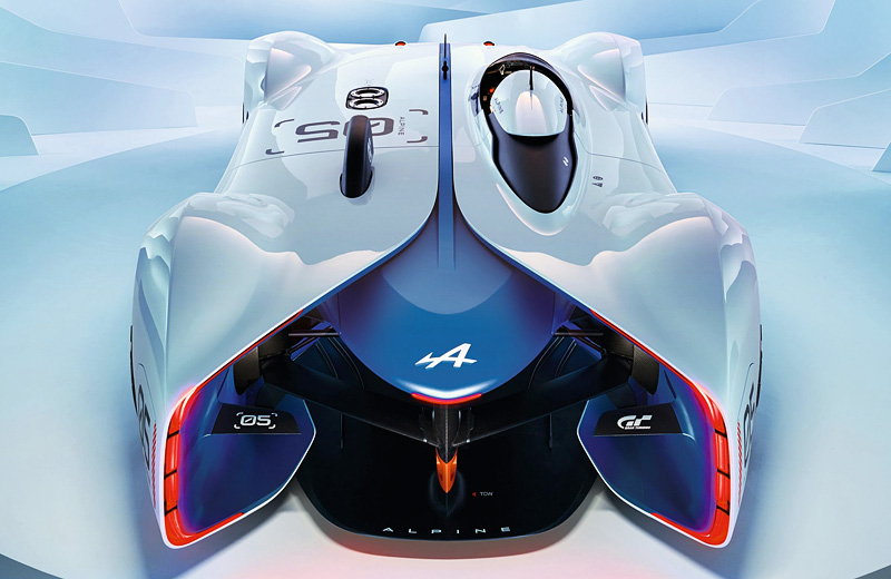 Alpine Vision Gran Turismo - игровое возрождение легендарного автопроизводителя