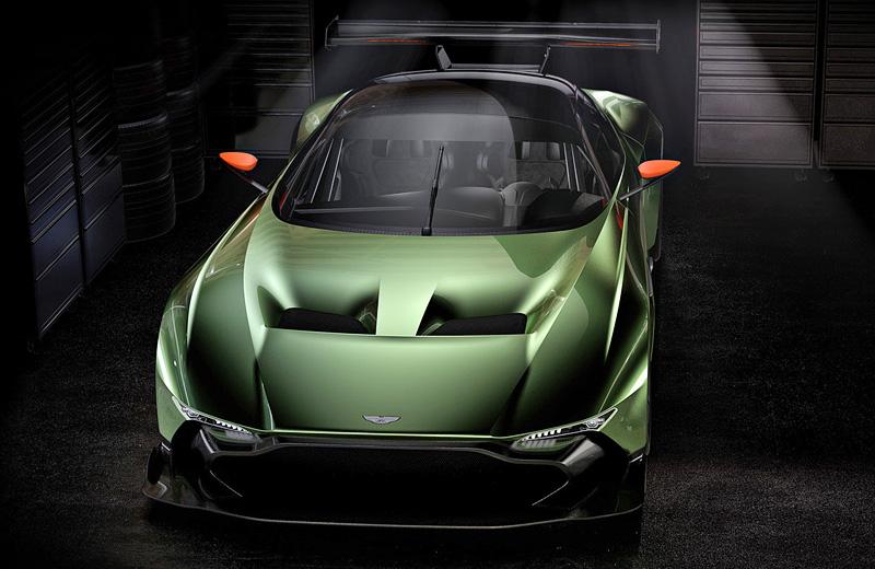 Aston Martin Vulcan - эксклюзивный трековый суперавтомобиль