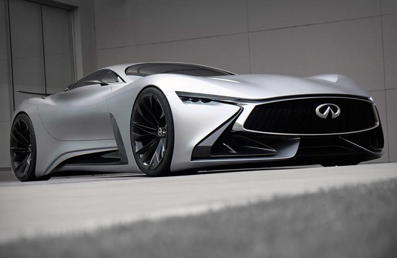 Infiniti Vision Gran Turismo Concept - игровой прототип от премиального автопроизводителя
