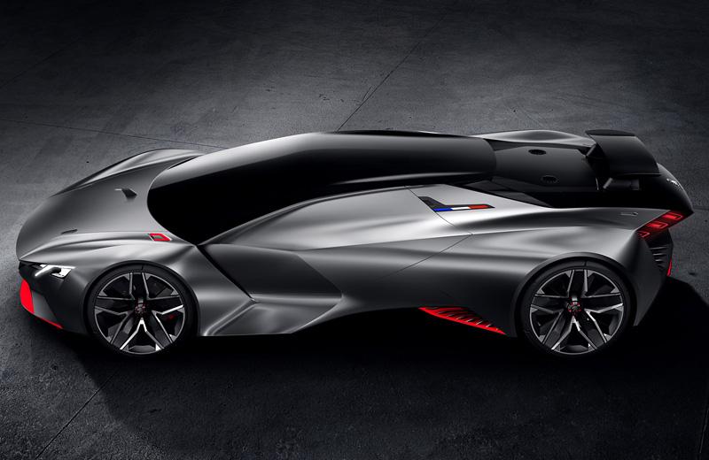 Peugeot Vision Gran Turismo - идеальный французский суперкар для мира GT6