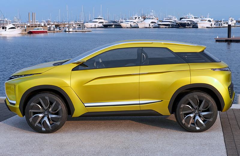 Mitsubishi eX Concept – ближайшее будущее кроссоверов