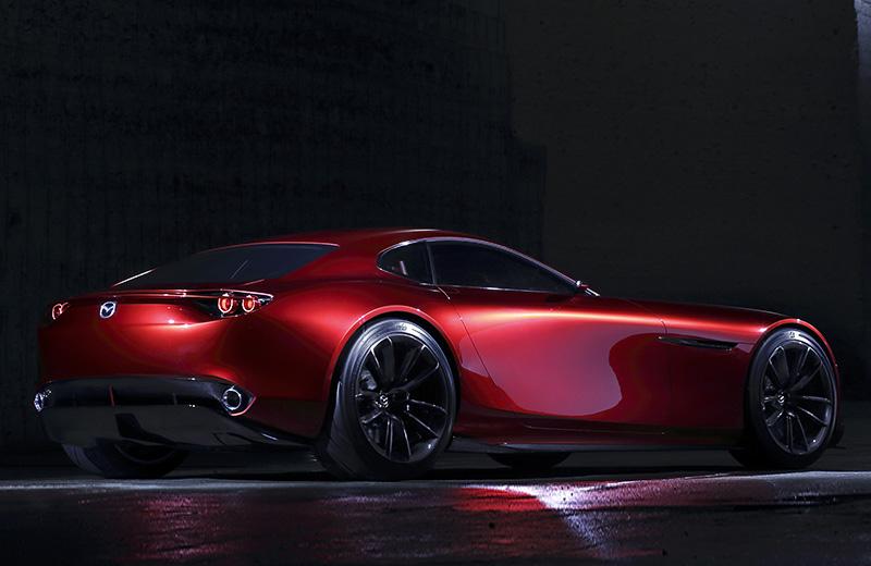 Mazda RX-VISION Concept – второе дыхание роторных агрегатов