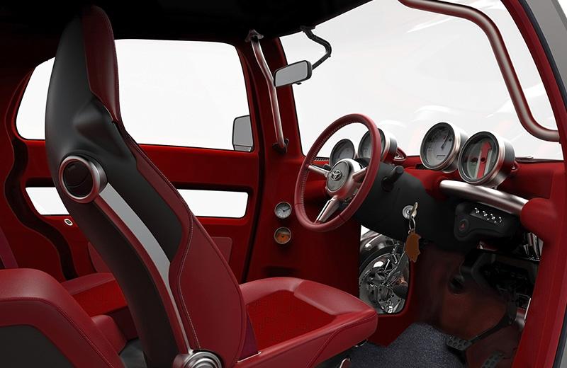 Toyota KIKAI Concept – внутренности наружу