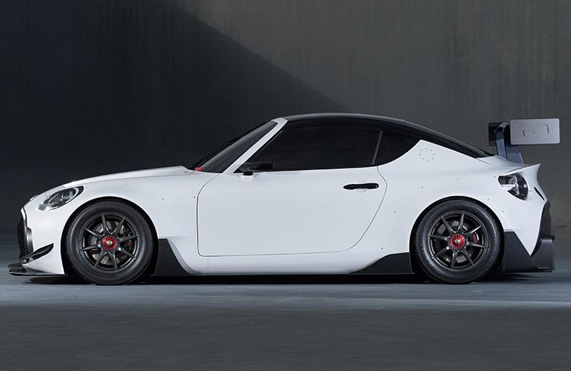 Toyota S-FR Racing Concept – маленький концепт с агрессивной внешностью