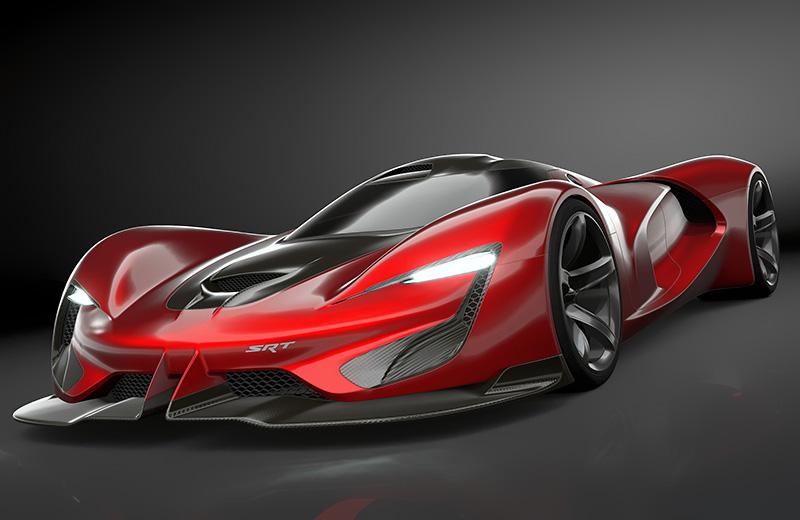 FCA SRT Tomahawk Vision Gran Turismo – 650 км/ч? Да запросто!