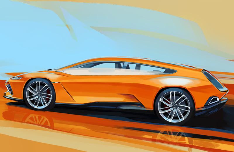 Italdesign GT Zero Concept – электрический фастбек из Италии