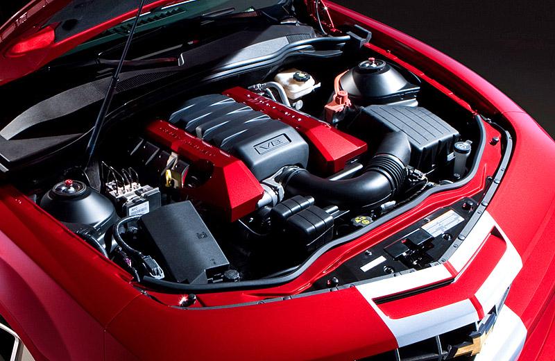 Chevrolet Camaro SS - американский мускул кар