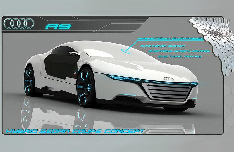 концепт автомобиля с нанотехнологиями