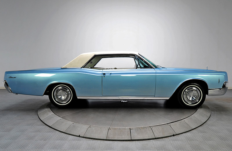 Lincoln Continental Hardtop Coupe: престижная альтернатива мускул-кару