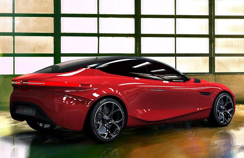 Alfa Romeo Gloria Concept: новый итальянский спорт-седан