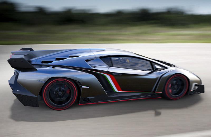 Lamborghini Veneno - убойный эксклюзив на юбилей