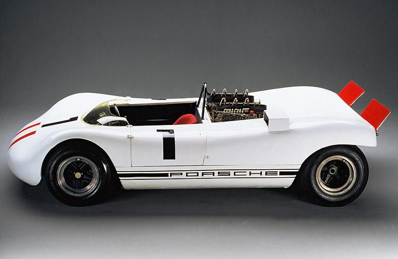 Porsche 909 Bergspyder: легкий на подъем