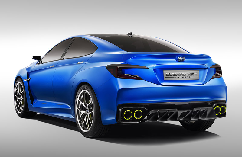 2013 Subaru WRX concept - первая ветвь Impreza