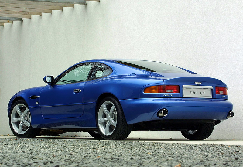 2002 Aston Martin DB7 GT - характеристики, фото ...