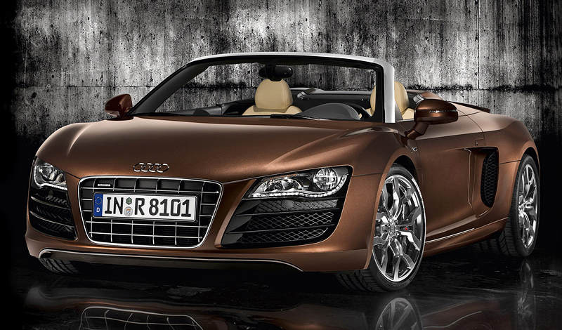 2009 Audi R8 V10 Spyder - характеристики, фото ...