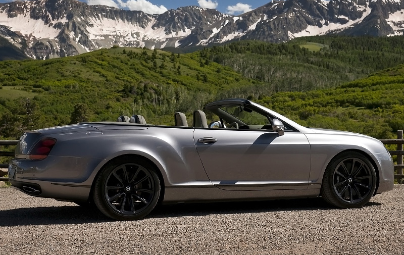 2010 Bentley Continental Supersports Convertible