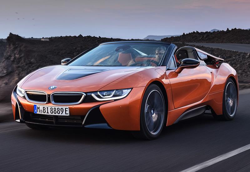 BMW i8 Spyder 2019 - фото, характеристика, цена в 2019 году