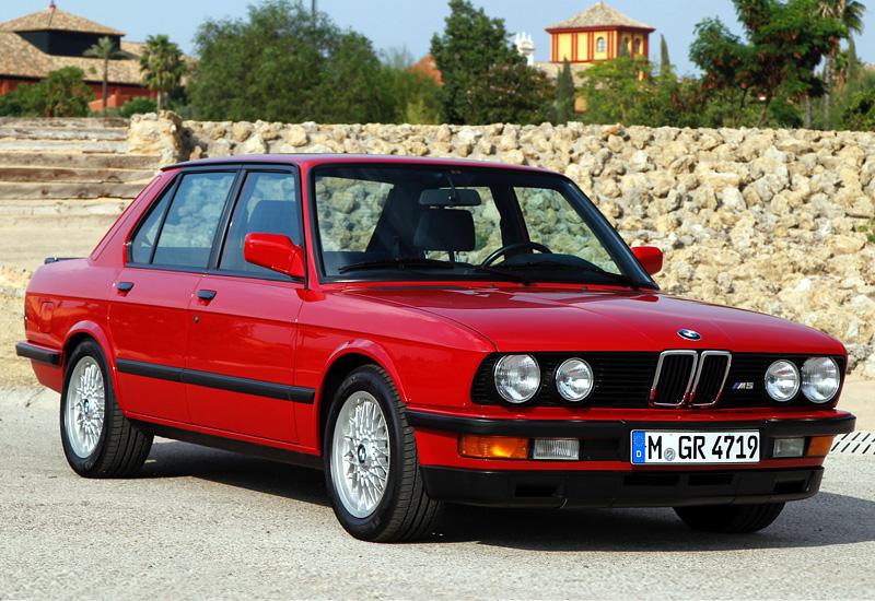 bmw m5 1984 года купить