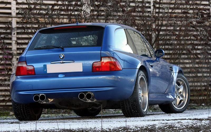 1998 Bmw Z3 M Coupe характеристики фото цена