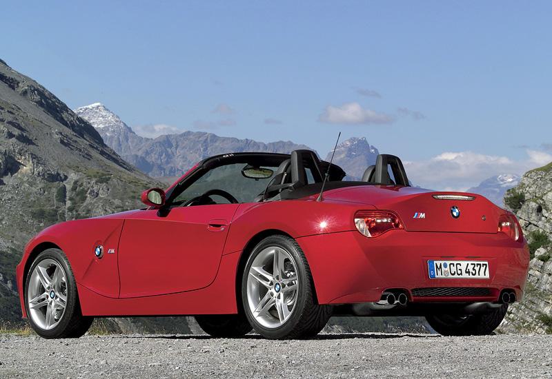 2006 Bmw Z4 M Roadster E85 характеристики фото цена