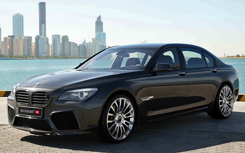 bmw 760li facelift Car Tuning