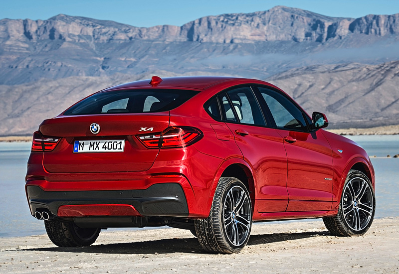 2014 BMW X4 xDrive35i M Sports Package