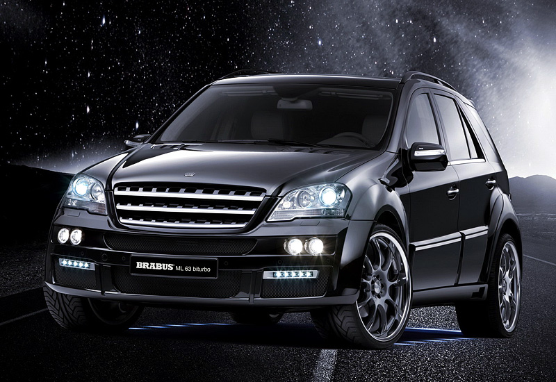 2009 Brabus ML 63 Biturbo Mercedes-Benz ML 63 AMG (W164)