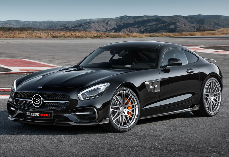 2016 Brabus 600 Mercedes-AMG GT S