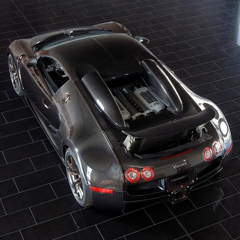 2009 bugatti veyron mansory linea vincero. Black Bedroom Furniture Sets. Home Design Ideas
