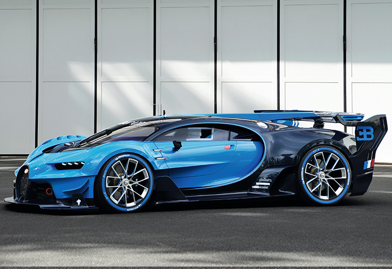 2016 bugatti vision gran turismo concept. Black Bedroom Furniture Sets. Home Design Ideas
