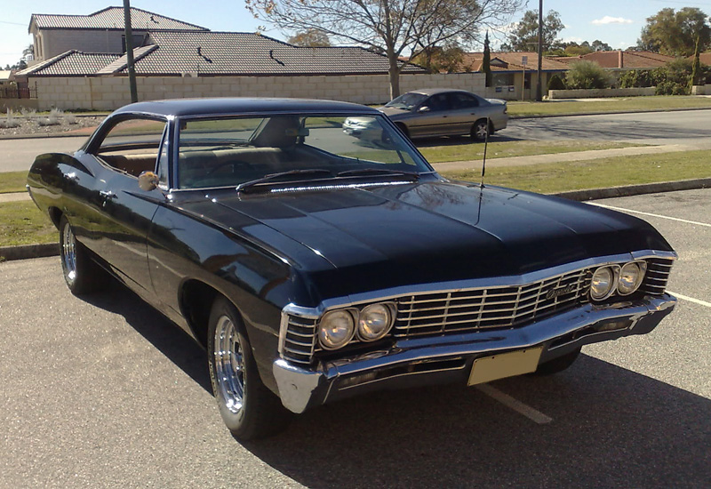 1967 chevrolet impala hardtop sedan. Black Bedroom Furniture Sets. Home Design Ideas