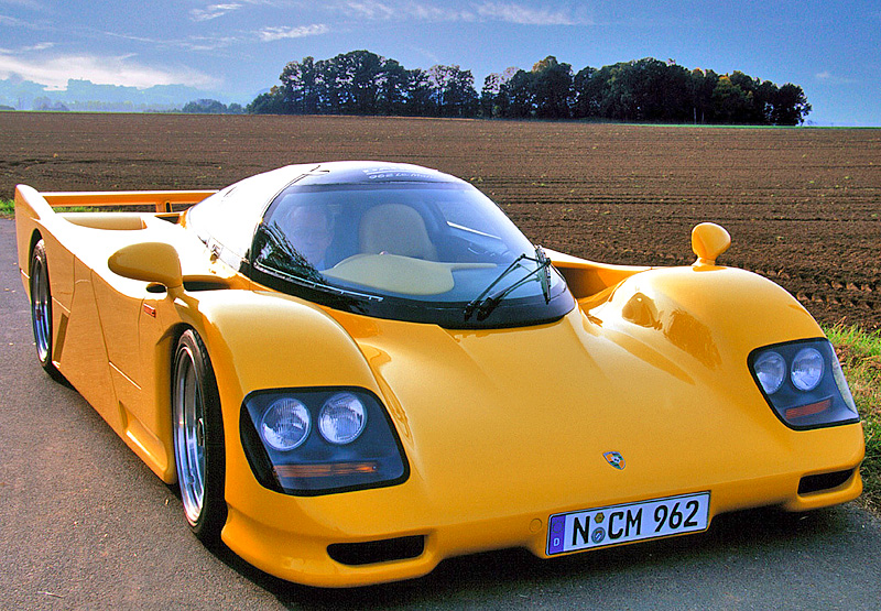 Fast Car 1994 Dauer 962 Le Mans Porsche