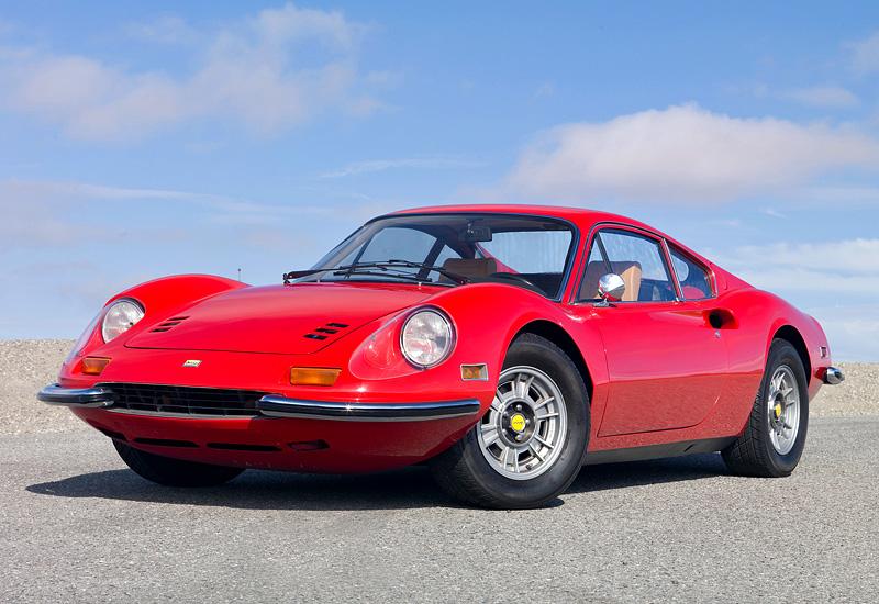 1969 Ferrari Dino 246 GT - характеристики, фото ...