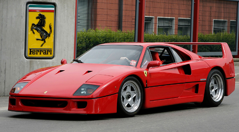 1987 Ferrari F40  F 40