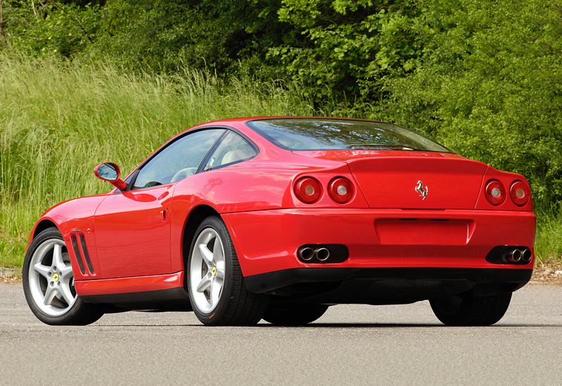 1996 Ferrari 550 Maranello - характеристики, фото ...