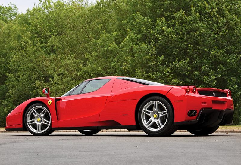 2002 Ferrari Enzo характеристики фото цена