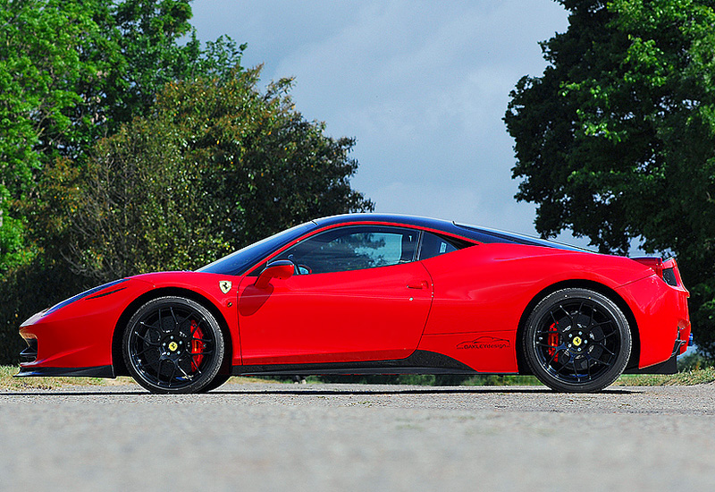 2010 Ferrari 458 Italia Oakley Design 630 Carbon Edition