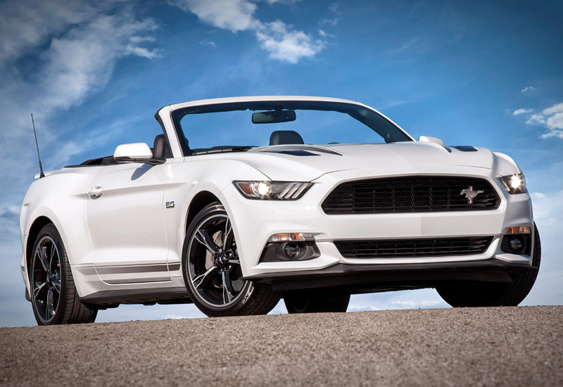 2016 Ford Mustang GT Convertible California