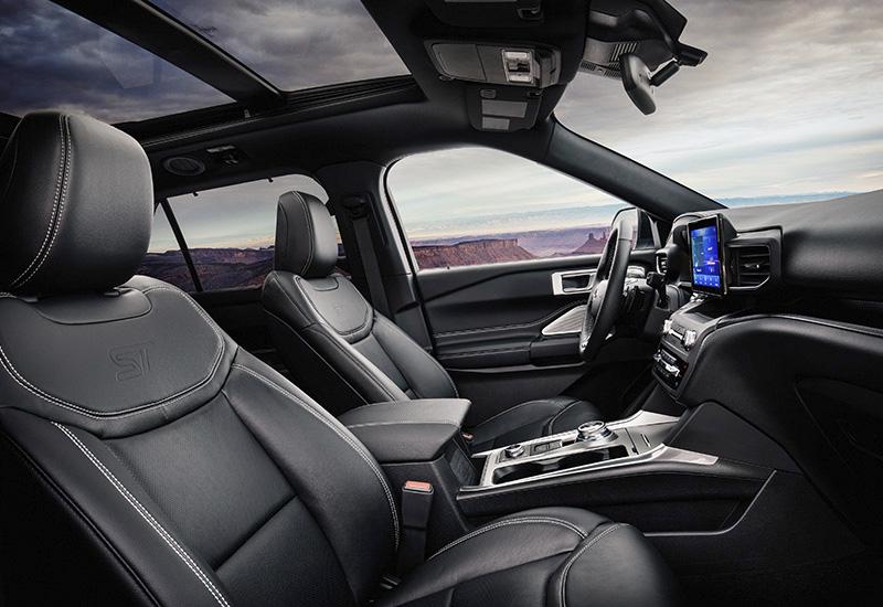 2020 Ford Explorer ST - характеристики, фото, цена.