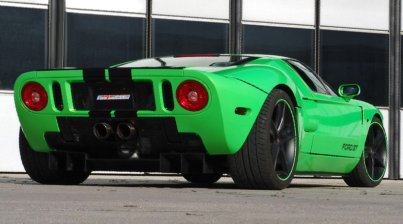 2010 Ford GT GeigerCars HP790